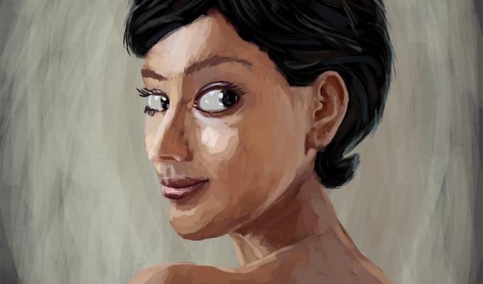 painterly sketch